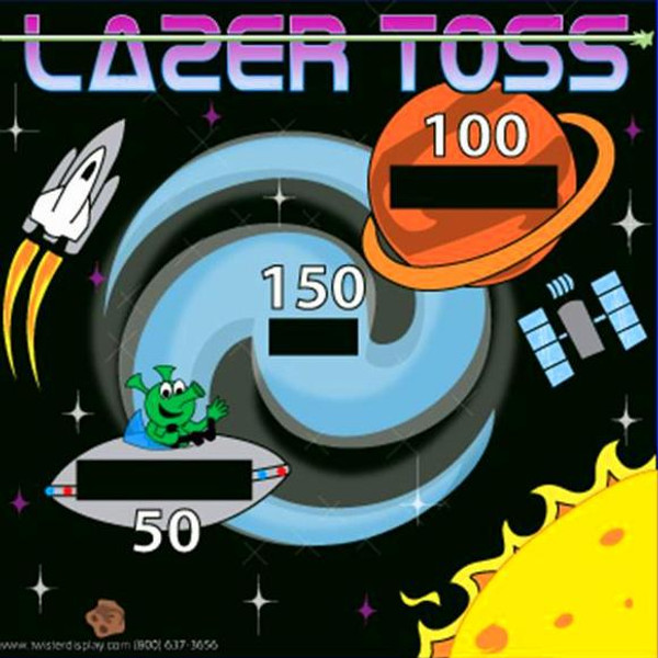 Laser Toss Canvas