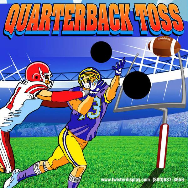 Quarterback Toss Canvas