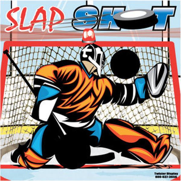 Slap Shot Hockey Canvas