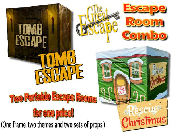 The Great Escape, Tomb Escape/Christmas Rescue Combo