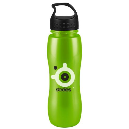 Slim Grip-M -25 oz. Metalike Bottle-Crest Lid - MXB25L