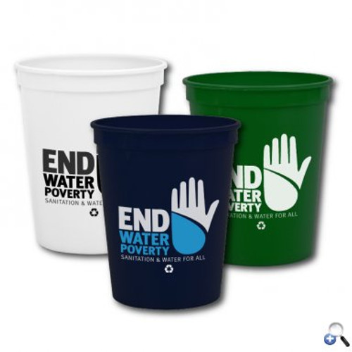 Cups-On-The-Go -16 oz. Recycled Stadium Cup - SC16R