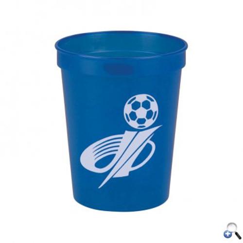 Cups-On-The-Go -16 oz. Transparent Stadium Cup - SC16T