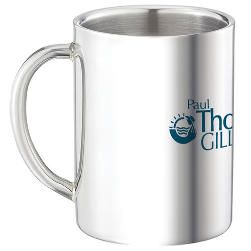 Double Wall Stainless Steel Mug - 9 oz. - 45891