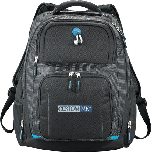 "Zoom™ Checkpoint-Friendly Compu-Backpack - Black (BK) - 18"" H X 7"" W X 13.5"" D0022-45"