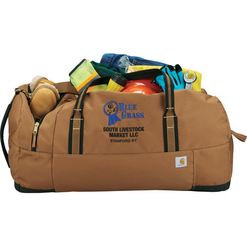 "Carhartt® Signature 30"" Work Duffel Bag - 1889-21-Brown (BR) - 15"" H X 30"" W X 14"" D"