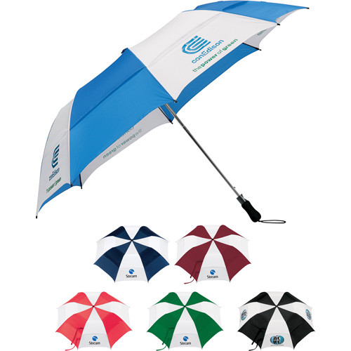 "58"" Vented Auto Open Folding Golf Umbrella - 2050-06"