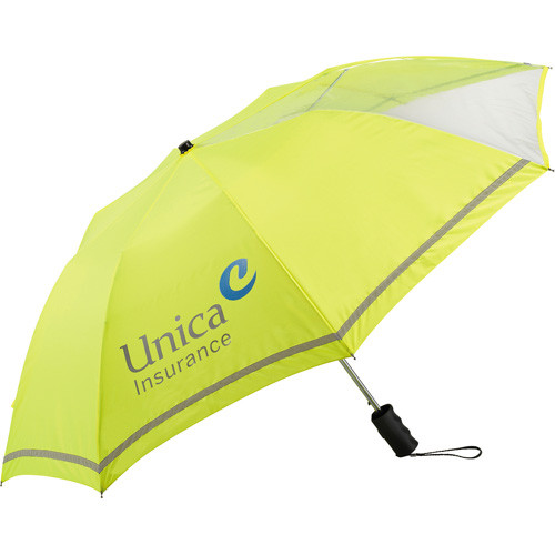 "42"" Clear View Auto Open Safety Umbrella - 2050-25"