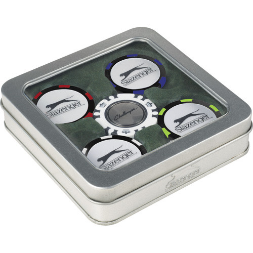 Slazenger™ Turf Ball Marker Gift Set - 6050-78