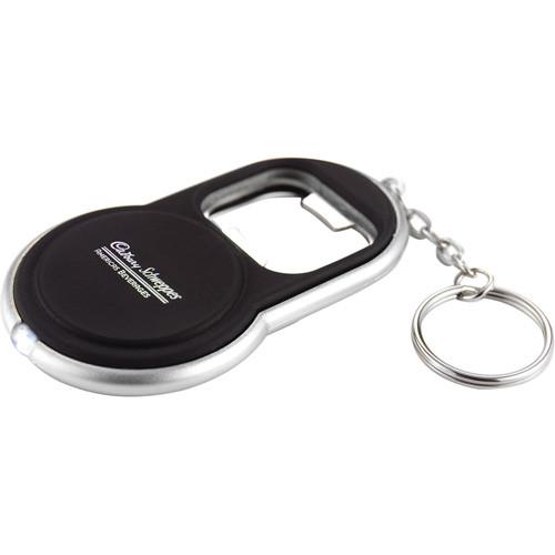 Circle Bottle Opener Keylight (Black) - 6640-15