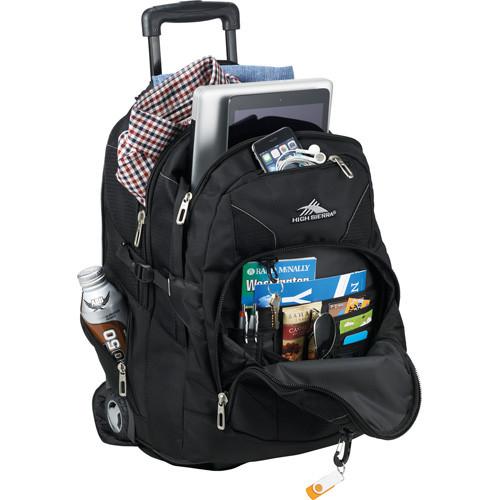 High Sierra® Elite Wheeled Compu-Backpack - 8052-25