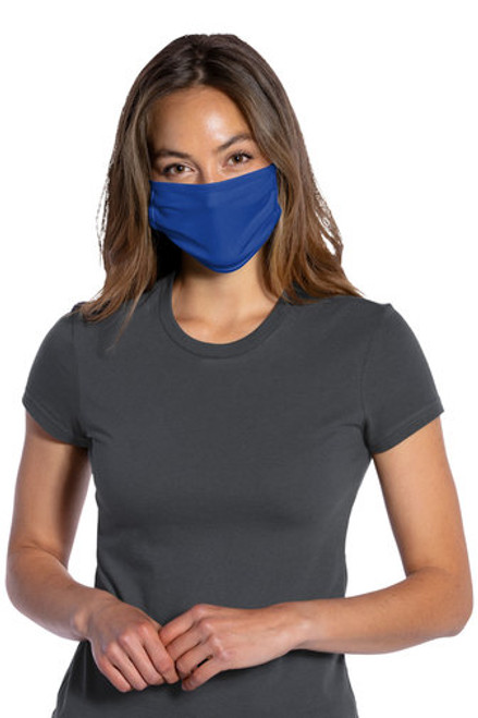 Port Authority ® 100% Cotton Knit Face Masks-Includes 1 Color,1 Location Imprint