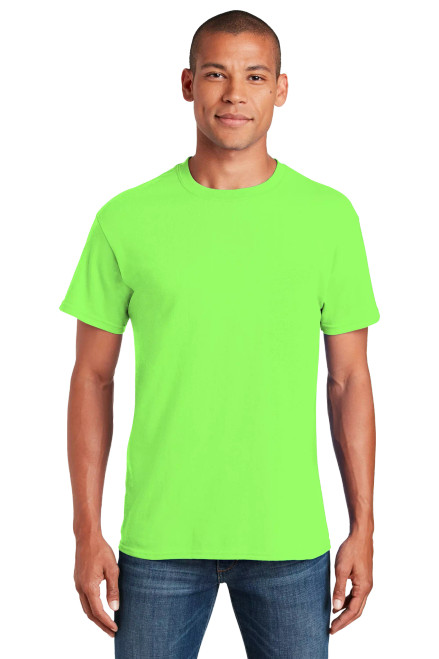 GILDAN  TEE- Heavy 100% Cotton T-Shirt - 5.3 oz. - Imprinted in 1 Color/1 Location