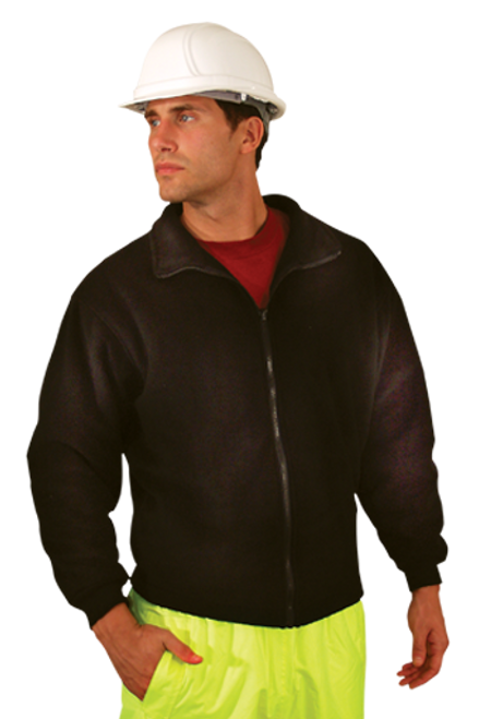 Add Your Logo to OccuNomix - Premium Four-Way Original Bomber Safety Jacket - LUX-TJBJ