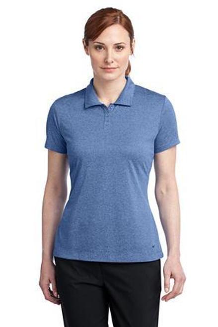 Add Your Logo to Nike Golf - Ladies Dri-FIT Heather Polo - 474455