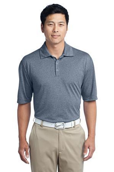 Add Your Logo to Nike Golf - Dri-FIT Heather Polo - 474231