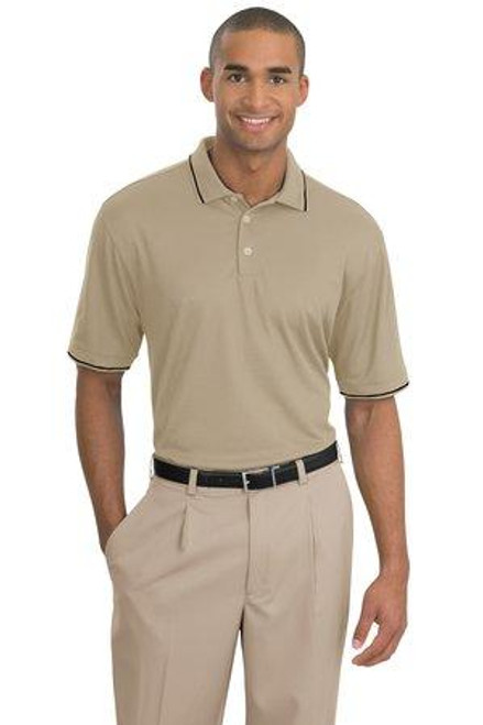Add Your Logo to Nike Golf - Dri-FIT Classic Tipped Polo - 319966