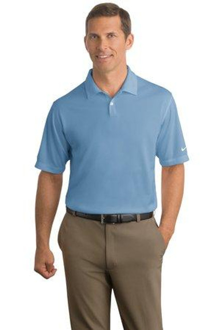 Add Your Logo to Nike Golf - Dri-FIT Pebble Texture Polo - 373749