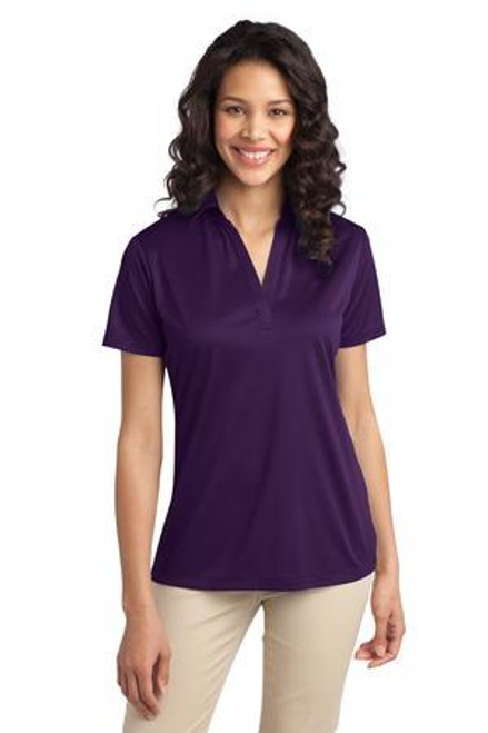 Add Your Logo to Port Authority - Ladies Silk Touch Performance Polo - L540