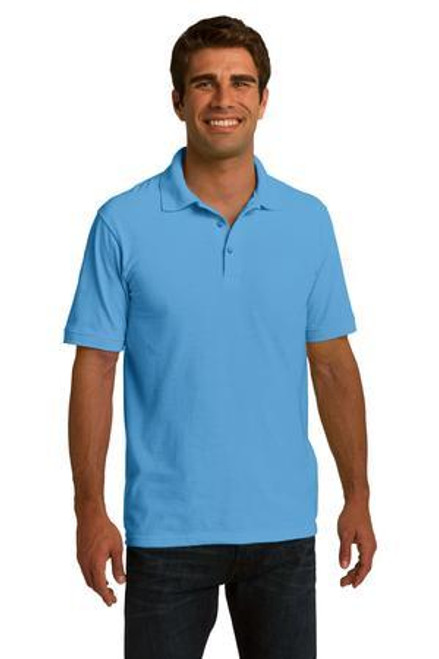 Add Your Logo to Port & Company - Ring Spun Pique Polo - KP150