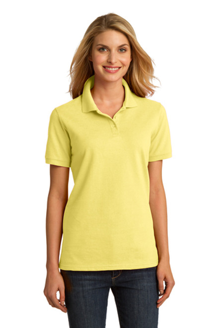 Port & Company - Ladies Ring Spun Pique Polo - LKP150