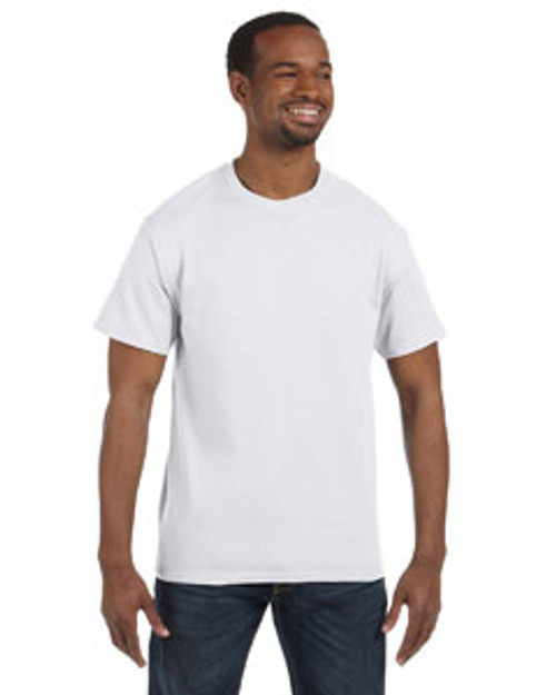 Add Your Logo to Hanes - 6.1 oz. Tagless T-Shirt - 5250T
