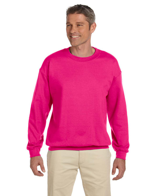 GILDAN ADULT  Heavy Blend 8 oz. 50/50 Fleece Crew - Includes FRONT & BACK Imprint in One Color