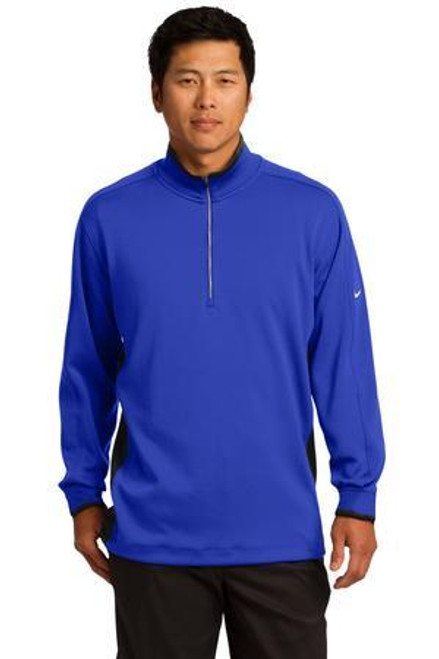 Add Your Logo to Nike Golf - Dri-Fit 1/2-Zip Cover-Up - 578673