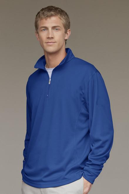 Add Your Logo to Vansport Mesh 1/4-Zip Tech Pullover - 3405
