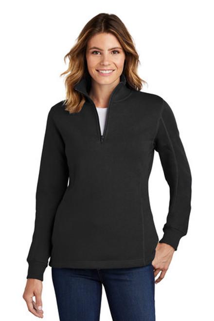 Sport-Tek - Ladies 1/4-Zip Sweatshirt - LST253