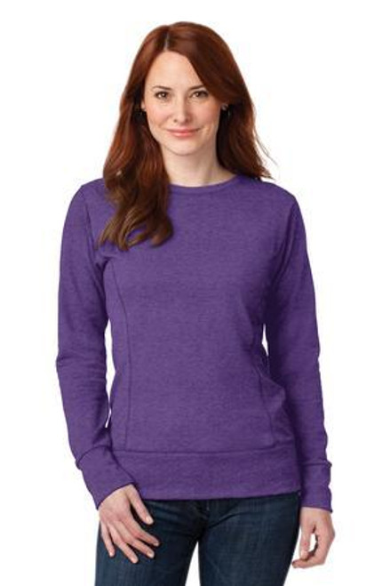 Add Your Logo to Anvil - Ladies French Terry Crewneck Sweatshirt - 72000L