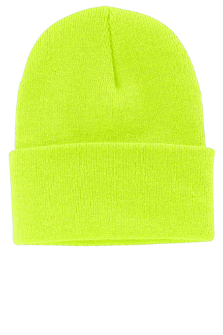 PORT & COMPANY KNIT CAP-INCLUDES YOUR LOGO EMBROIDERED IN ONE LOCATION