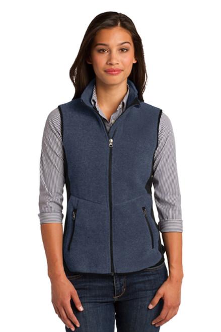 Port Authority - Ladies R-Tek Pro Fleece Full-Zip Vest - L228