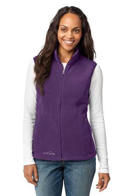Add Your Logo to Eddie Bauer - Ladies Fleece Vest - EB205