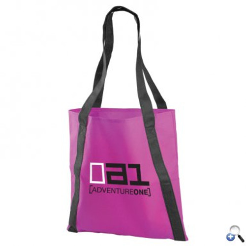 "The Pinnacle - 15"" Non-woven Tote Bag - 13.5"" x 15"" with 22"" Handles."