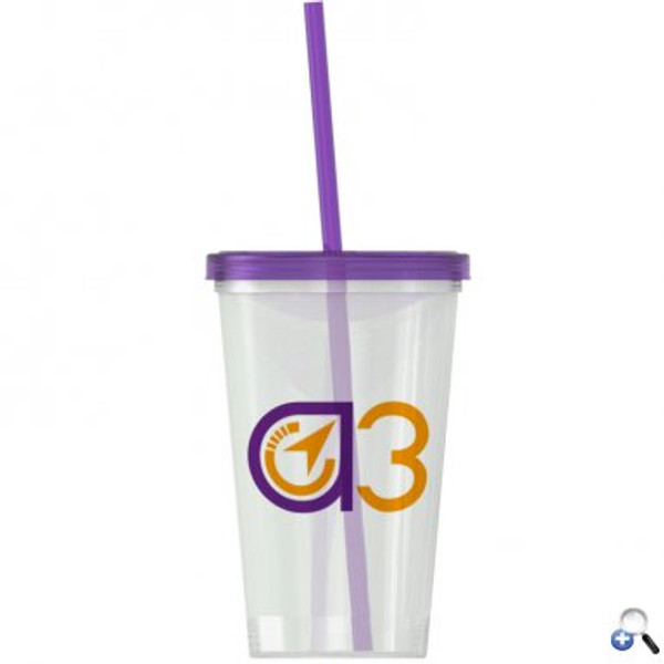 On-The-Go -20 oz. Straw Tumbler -Single-wall - SC20LS