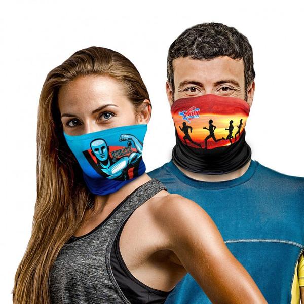 Custom Dye Sublimation Neck Gaiter Multi-Purpose Face Covering