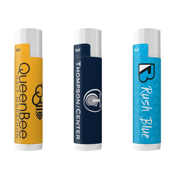 SPF 15 Lip Balm in White Tube-Pucker up, buttercup! Our lip balm is one of our most popular products