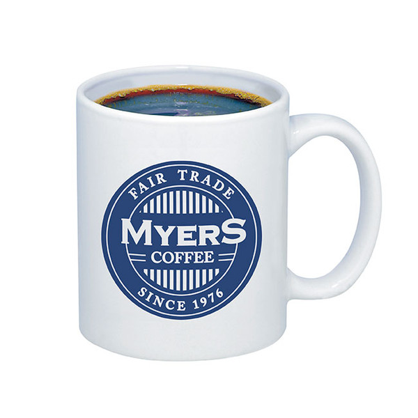 Budget Mug - 11 oz. - This is our #1 best selling white ceramic mug!