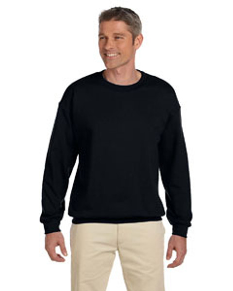 GILDAN ADULT  Heavy Blend 8 oz. 50/50 Fleece Crew - Includes FRONT & BACK Imprint in One Color
