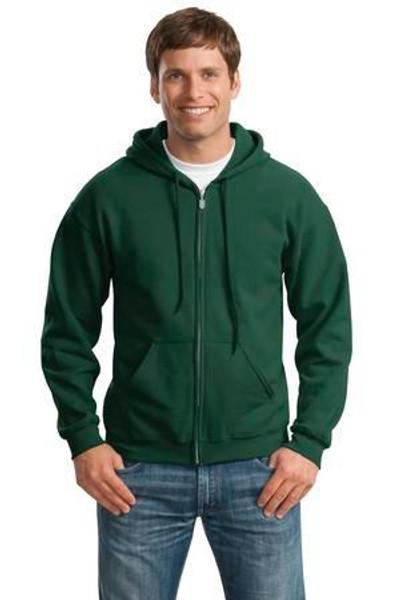 Add Your Logo to Gildan - Heavy Blend Full-Zip Hooded Sweatshirt - 18600