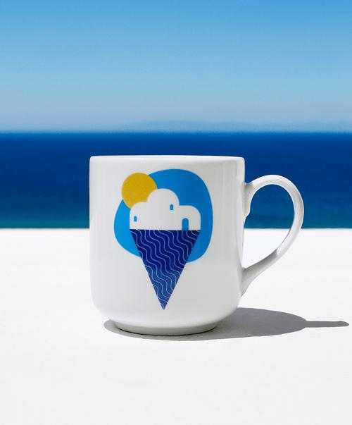 Yummy Greece Coffee Ceramic Mug