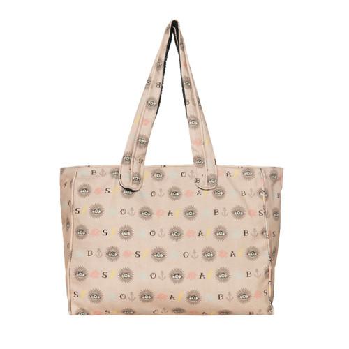 Third Eye Premium Cotton Beach Bag in Pink