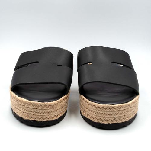 H Design, Platform, Handcrafted Leather  Sandals
