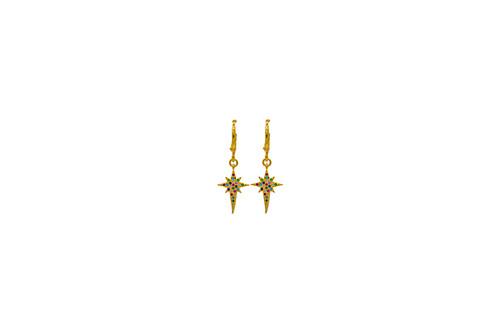 Zircon Stud Earrings Small