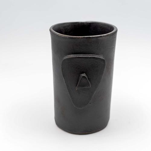 Cycladian Style, Large Ceramic Mug in Gray