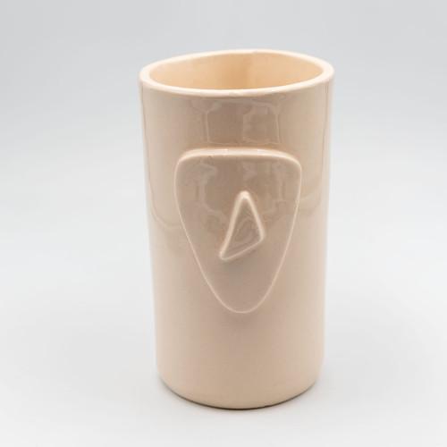 Cycladian Style, Large Ceramic Mug in Ivory