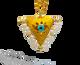 "Pearl White ""Fylachto"" Talisman Pendant"