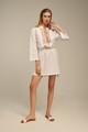 Ione Kaftan, Linen Dress in White