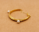 Freshwater Pearl, Gold Bangle, Bracelet